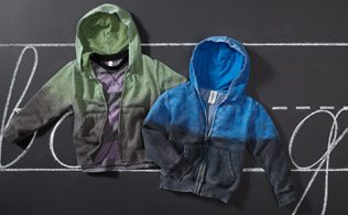 Back to School: Colorfast Apparel for Boys!