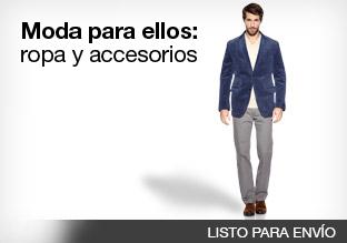 Moda para ellos: ropa y accesorios