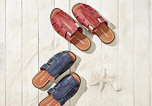 Summer's Best: Sandals, Slip-Ons & More
