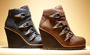 Fall Style: Buckled Boots