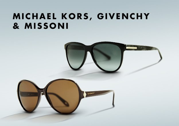 Michael Kors, Givenchy & Missoni