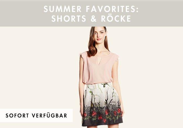 Summer Favorites: Shorts & Röcke bis zu -78%