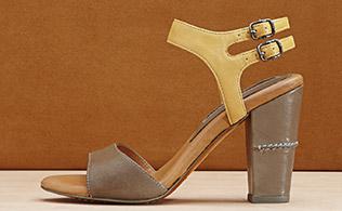 Under $75: High-Heeled Sandals!