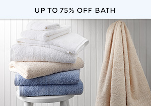 The Basics Shop: Up to 75% Off Bath!