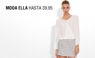 Moda ella: hasta 39,95 euros