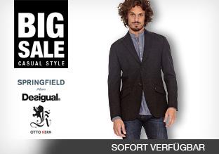 Big Sale: Casual Style Men