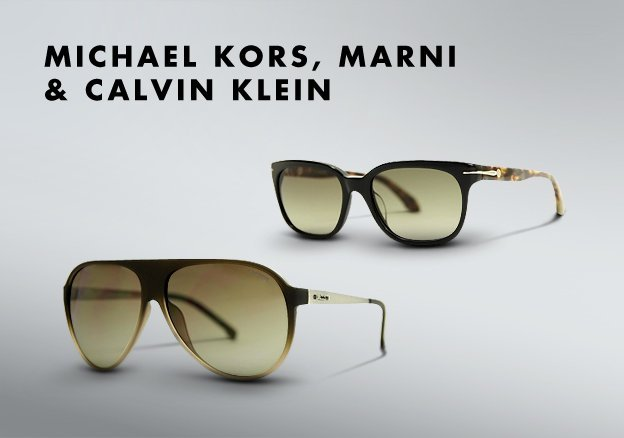 Michael Kors, Marni & Calvin Klein