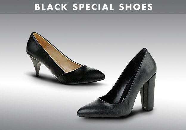 Black Special Shoes!