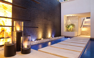 By the Hearth: Stylish Firepits from Ecosmart!