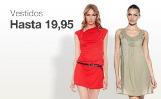 Vestidos hasta 19,95 euros