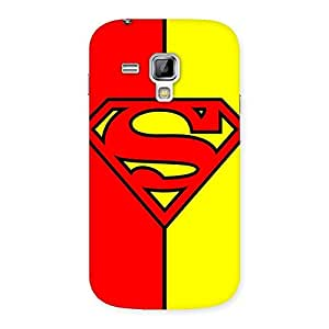 Ajay Enterprises Dayer Red Yellow Super Back Case Cover for Galaxy S Duos