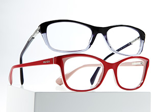 Hazaña gafas de diseño. Prada