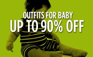 Outfits for Baby: Up to 90% Off