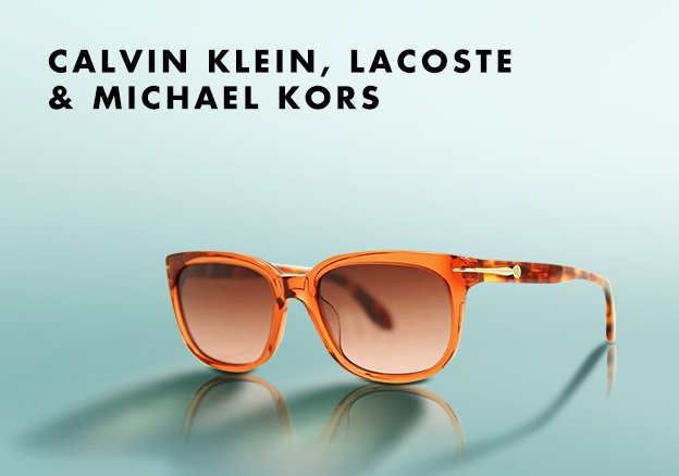 Calvin Klein, Lacoste & Michael Kors!