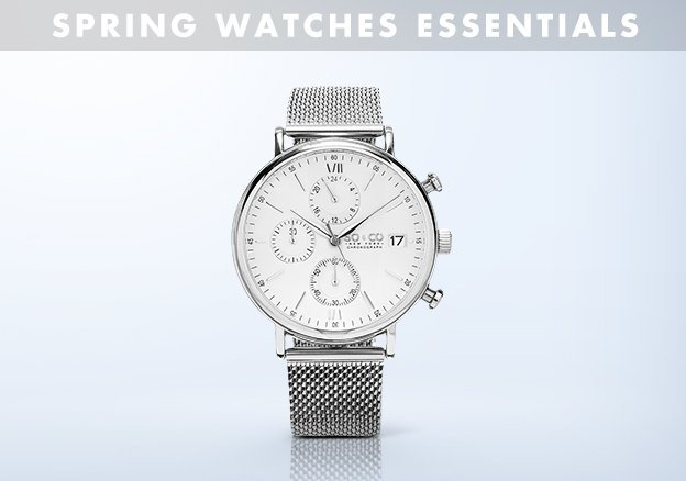 Spring Watches Essentials