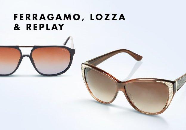 Ferragamo, Lozza & Replay