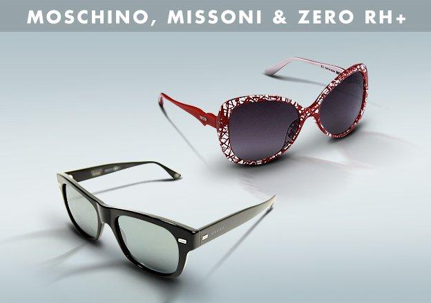 Moschino, Missoni & Zero rh+