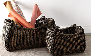 Wald Imports: Baskets, Trays & More!