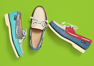 Resort Wear: Canvas & Boat Shoes!