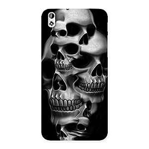 Skull Monument Back Case Cover for HTC Desire 816