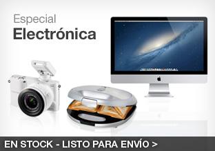 Especial Electrónica y Pequeño Electrodoméstico