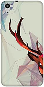 The Racoon Grip printed designer hard back mobile phone case cover for HTC Desire 826. (Deer Fract)