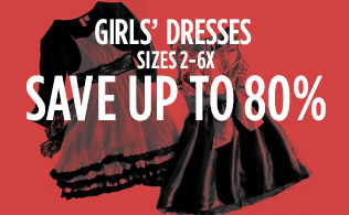 Girls' Dresses Sizes 2-6x: Up to 80% Off