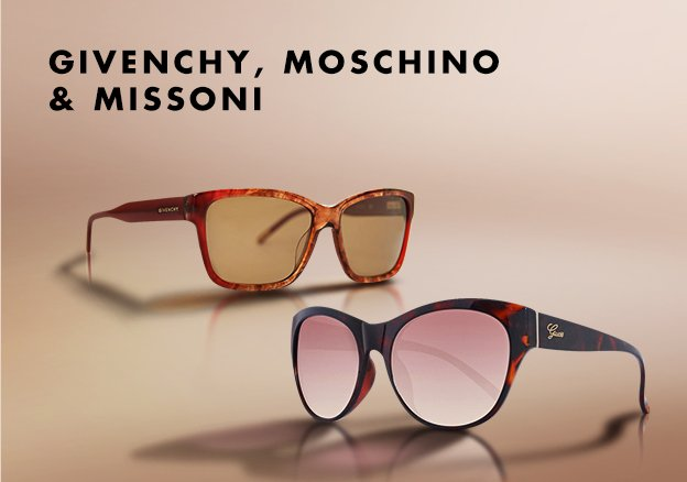 Givenchy, Moschino & Missoni
