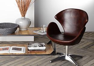 Leather steel mobili e arredamento voga italia donne for Voga mobili design