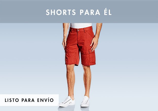 Shorts para él!