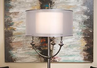 The Home Shop: Floor Lamps!