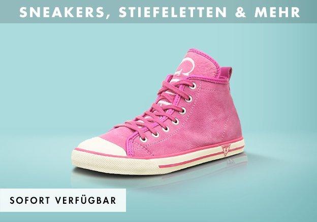 Sneakers, Stiefeletten & mehr