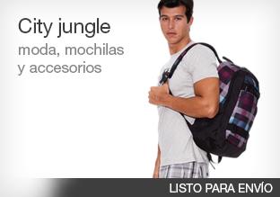 City jungle: moda, mochilas y accesorios