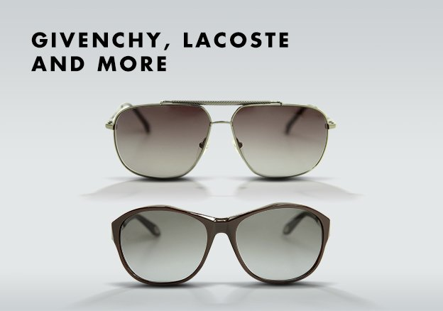 Givenchy, Lacoste and more