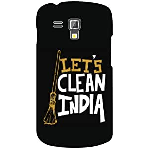 Samsung Galaxy S Duos 7562 Back Cover - Let's Clean India Designer Cases