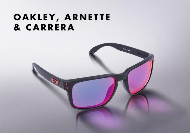 Oakley, Arnette & Carrera