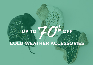 Up to 70% Off: Cold Weather Accessories