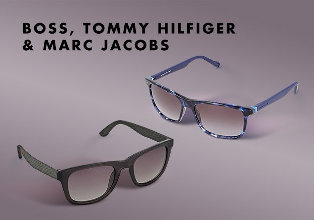 Boss, Tommy Hilfiger & Marc Jacobs