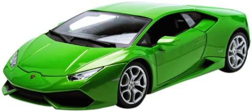 Bburago 1:18 Lamborghini Huracan LP 610-4 Die Cast Car, (Colors may vary)