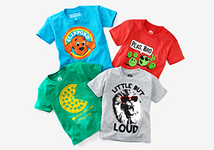 $15 & Under: Graphic Tees for Boys