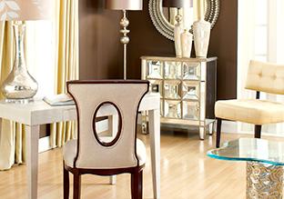 Go Glam: Furniture!