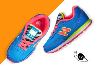 Piedi veloci : bambini Sneakers & slip-on!