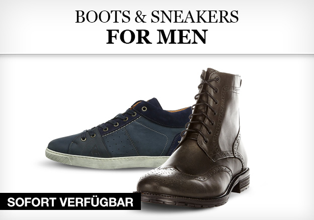 Boots & Sneakers for Men