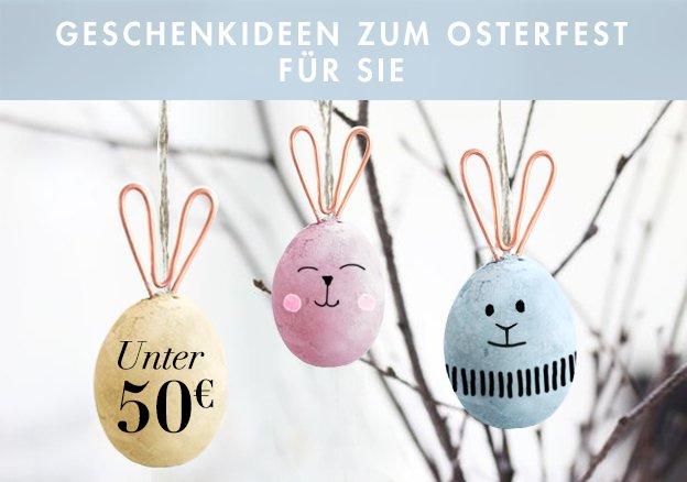 Geschenkideen für Sie unter 50 Euro