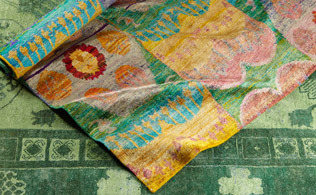 Silk Ikat Rugs: Manhattan Design District!