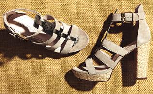 Under $50: High-Heeled Sandals!