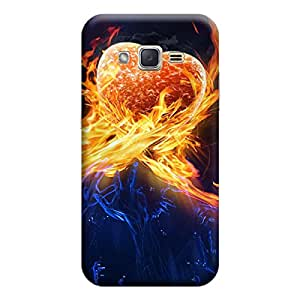 iShell Premium Printed Mobile Back Case Cover With Full protection For Samsung J3 (Designer Case)
