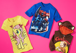 SOLO $ 9: CAMISETAS FEAT. MY LITTLE PONY y TMNT