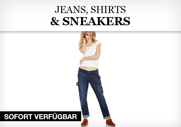 Jeans, Shirts & Sneakers