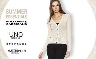 Summer Essentials: Pullover & Cardigans